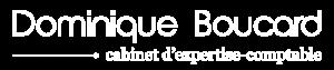Logo blanc Dominique Boucard - cabinet d'expertise-comptable